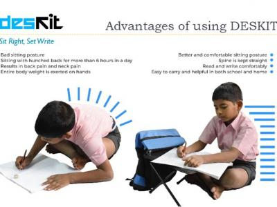 Distribution of Deskits in Govt schools - Kanpur